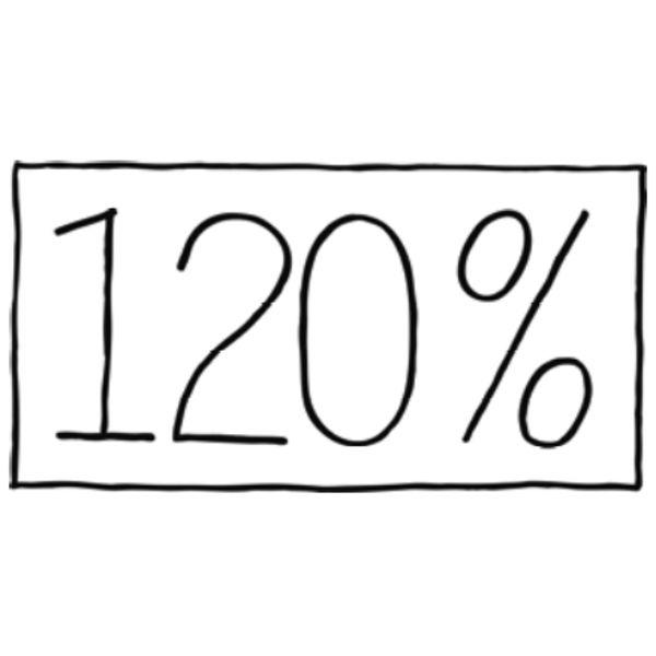 120% LINO Logo