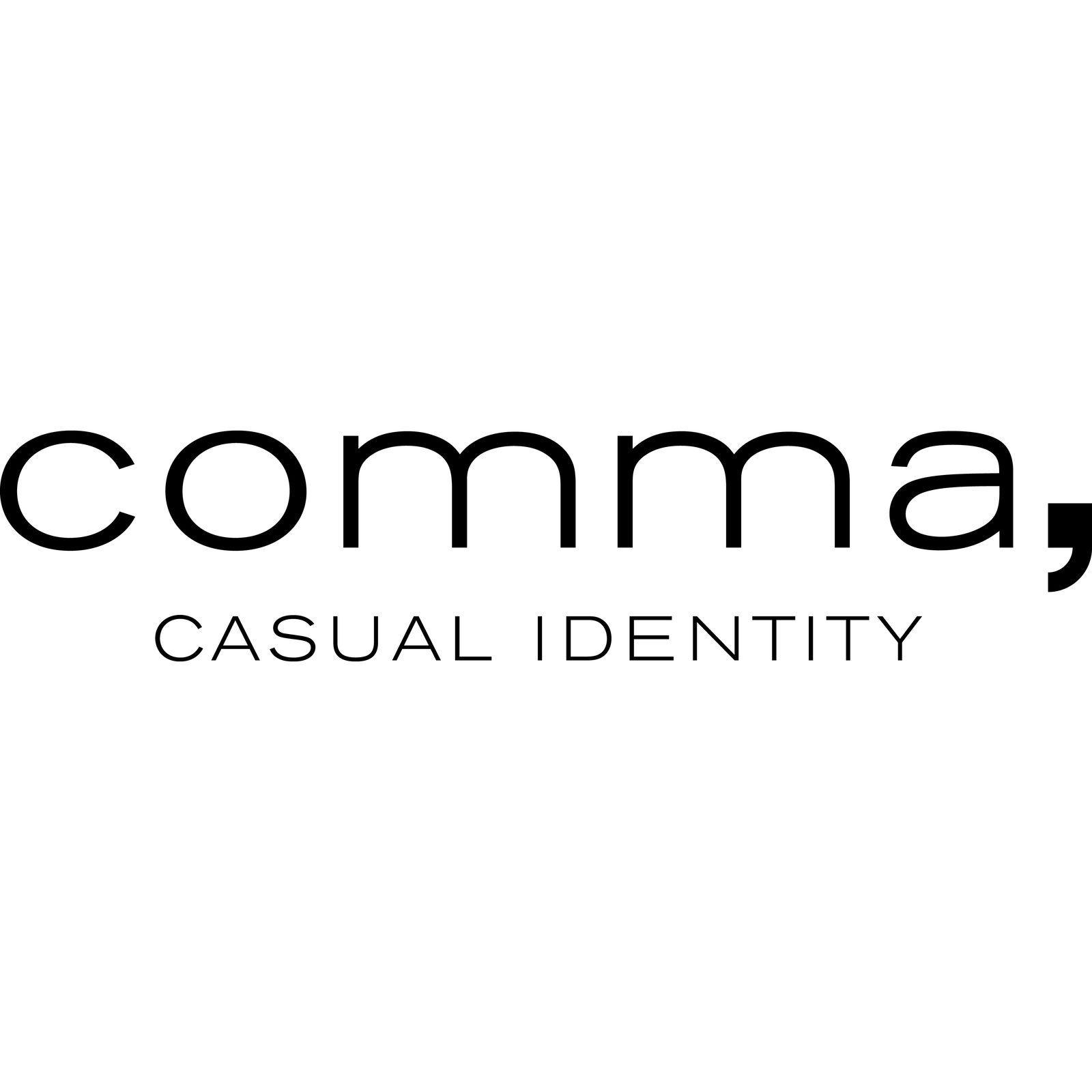 comma casual identity