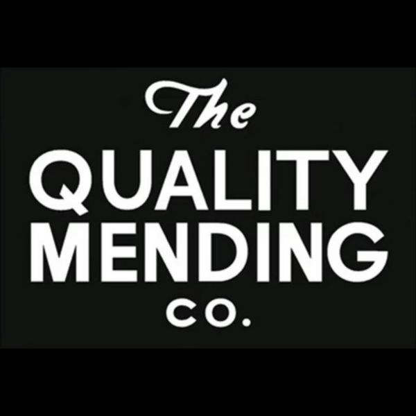 The QUALITY MENDING CO. Logo