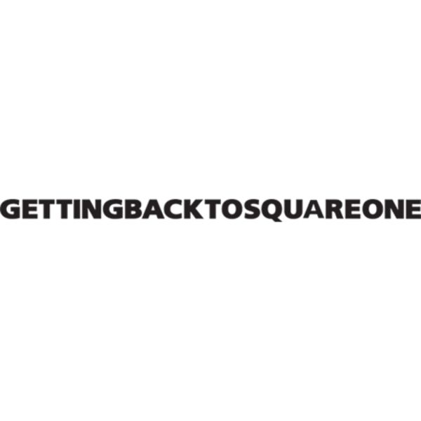 GETTING BACK TO SQUARE ONE Logo