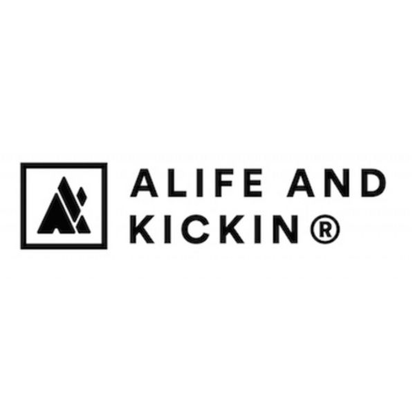 ALIFE AND KICKIN® Logo