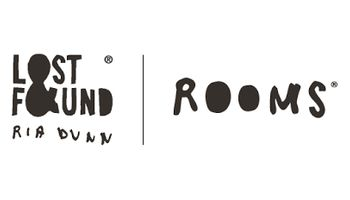 LOST & FOUND ROOMS Logo