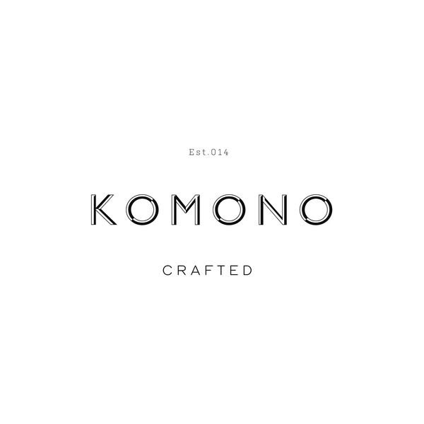 KOMONO CRAFTED Logo