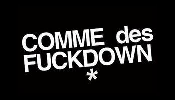 COMME DES FUCKDOWN Logo