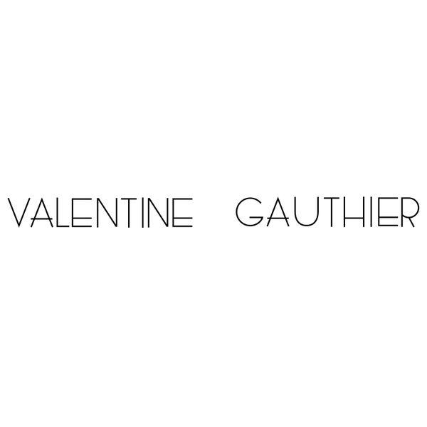 VALENTINE GAUTHIER Logo