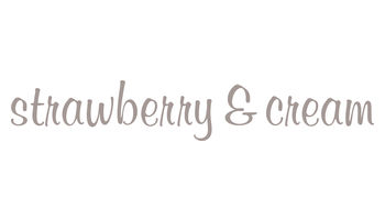 strawberry & cream Logo