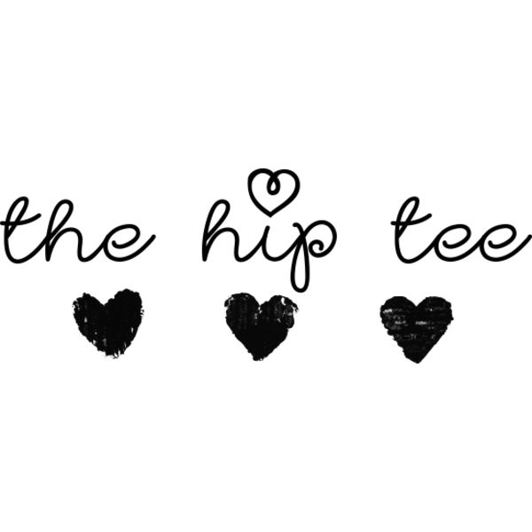 the hip tee Logo