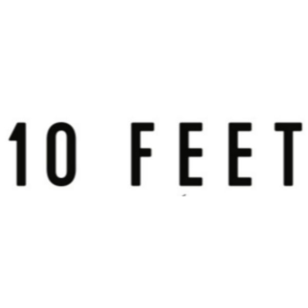 10 FEET Logo