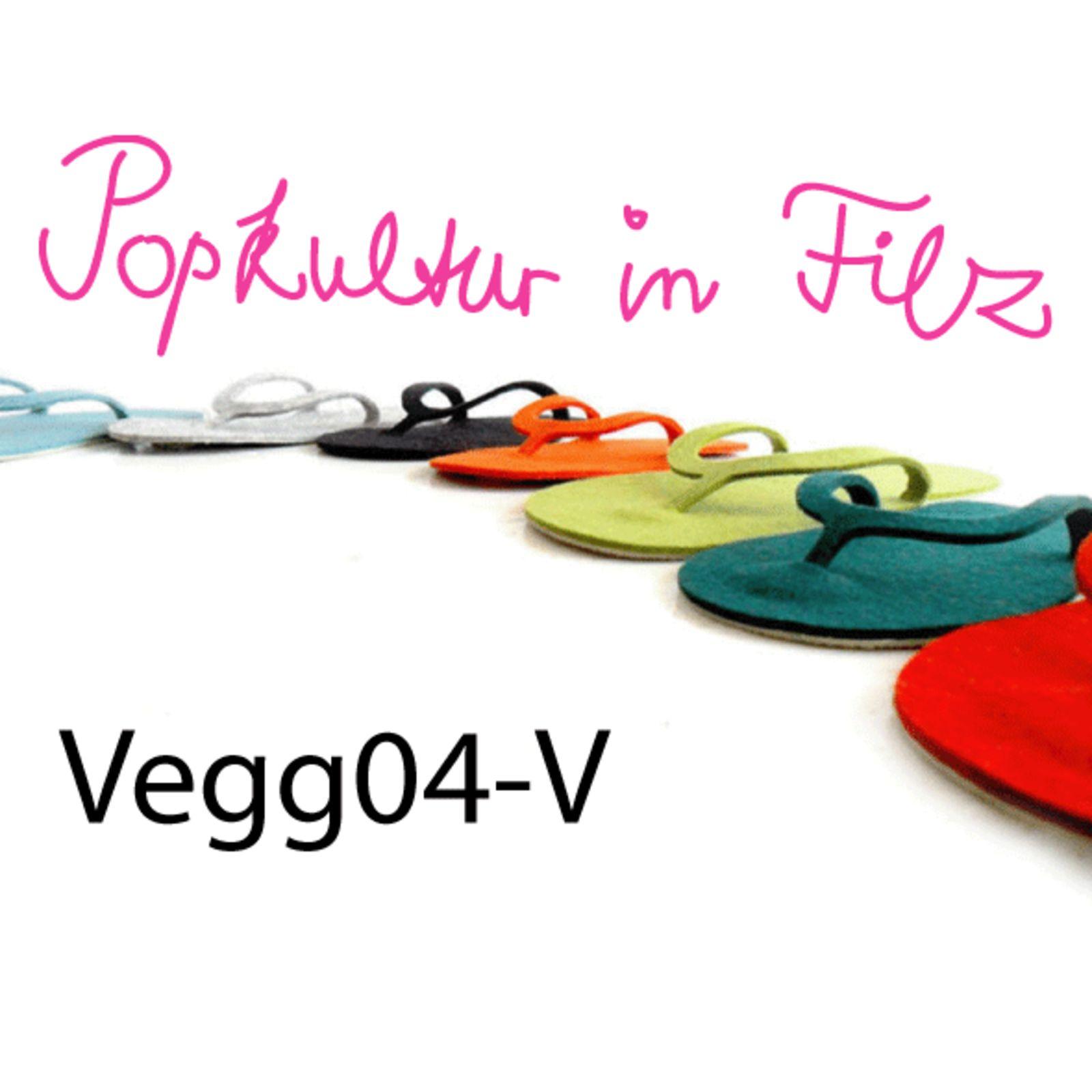 Vegg04-V Popkultur in Filz (Bild 1)