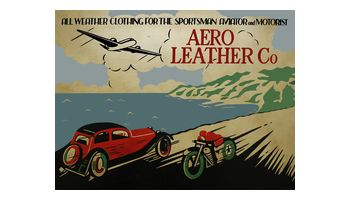 AERO LEATHER CLOTHING Logo