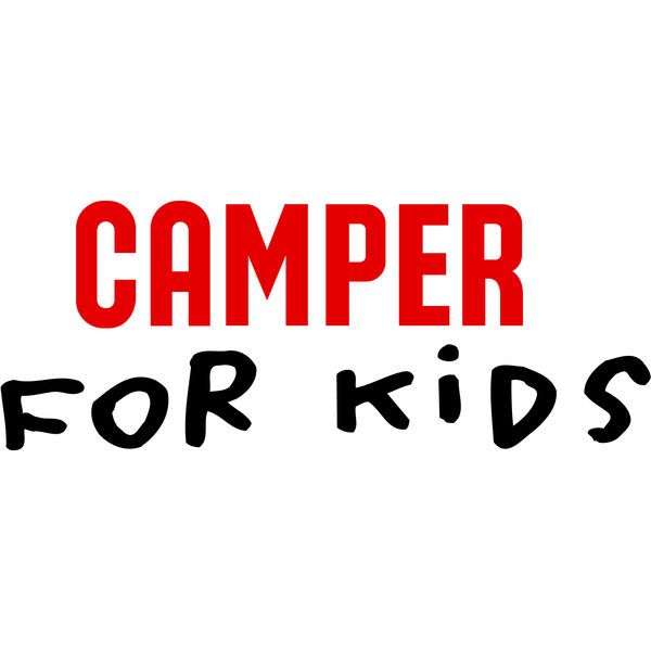 CAMPER for kids Logo