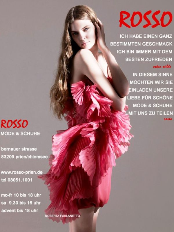 ROSSO Stefania Belliardo Schuhe Mode Prien