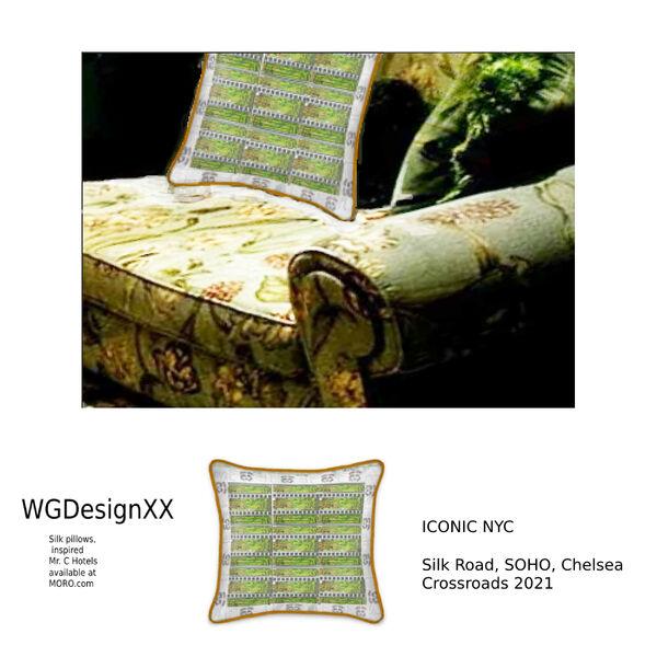 Silk Pillow XX1Beaverstreet