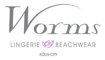 WORMS Lingerie & Beachwear Logo