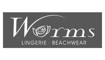 WORMS Lingerie & Beachwear Logo