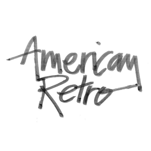 American Retro Logo