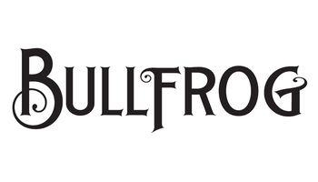 Bullfrog Barbershop Logo