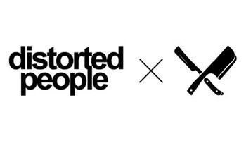 distorted people Logo
