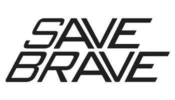 SAVE BRAVE Logo