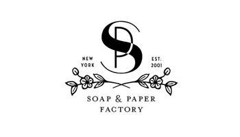 SOAP & PAPER FSCTORY Logo