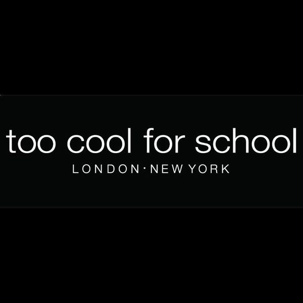 too cool for school Logo