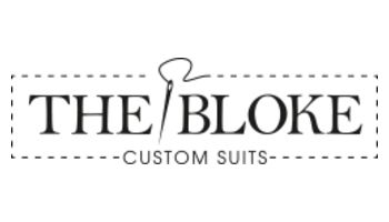 THE BLOKE custom suits Logo