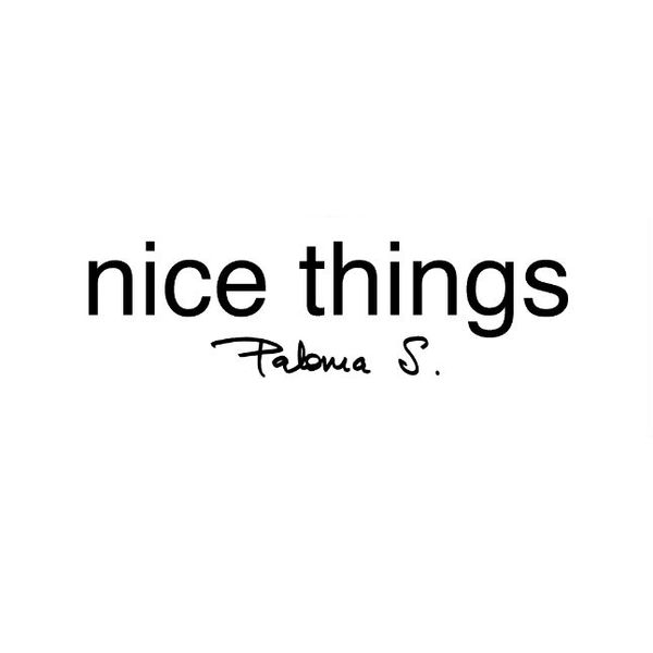 nice things Logo