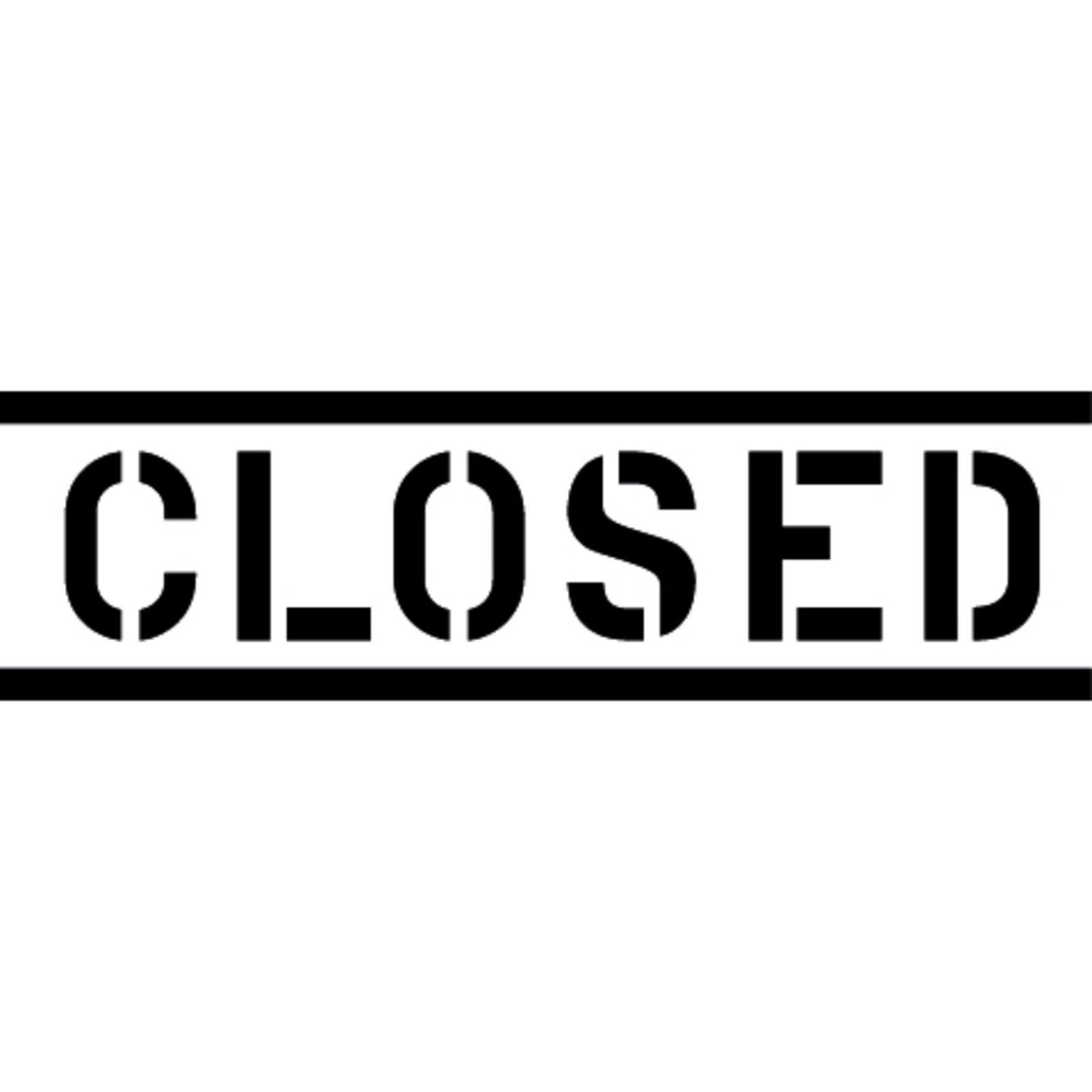 CLOSED (Image 1)