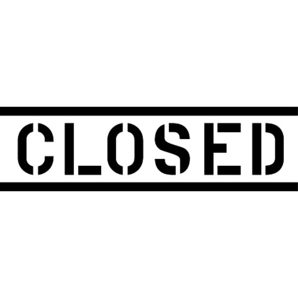 CLOSED Logo