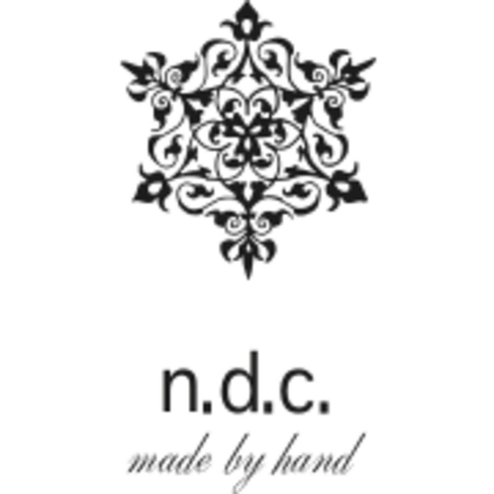 n.d.c made by hand