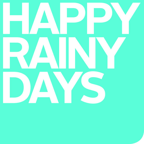 HAPPY RAINY DAYS Logo