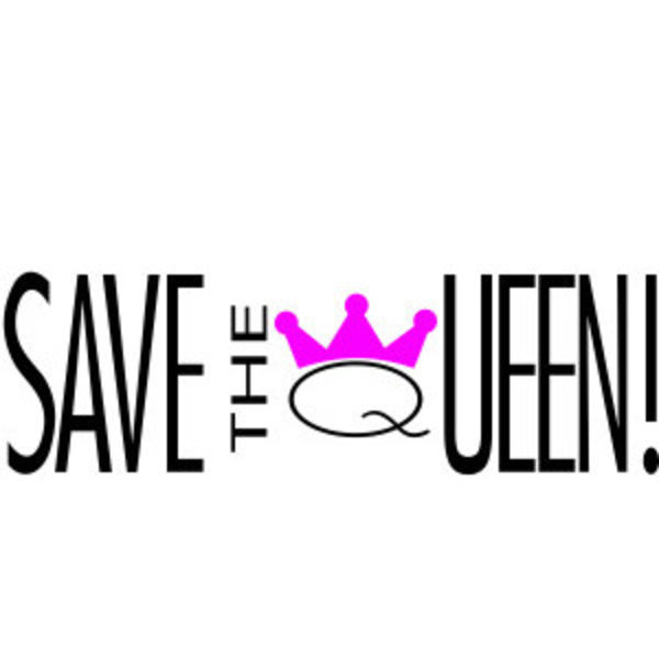 SAVE THE QUEEN! Logo