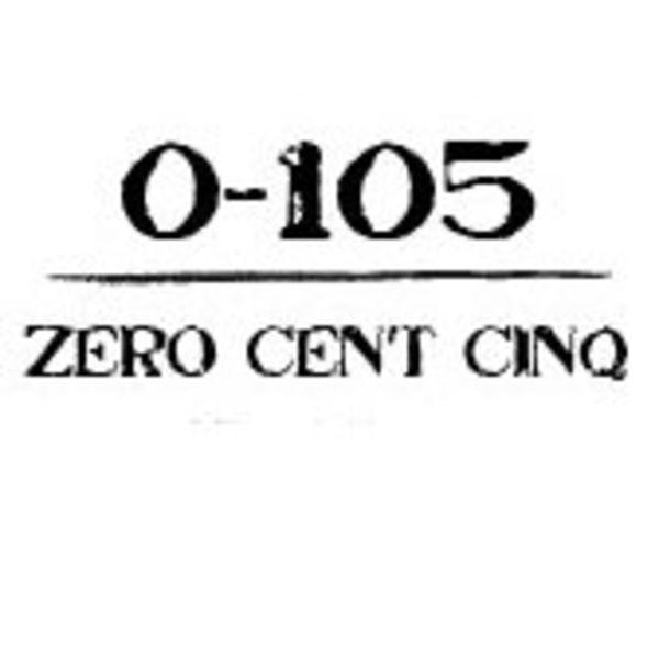 0-105 Zero Cent Cinq Logo