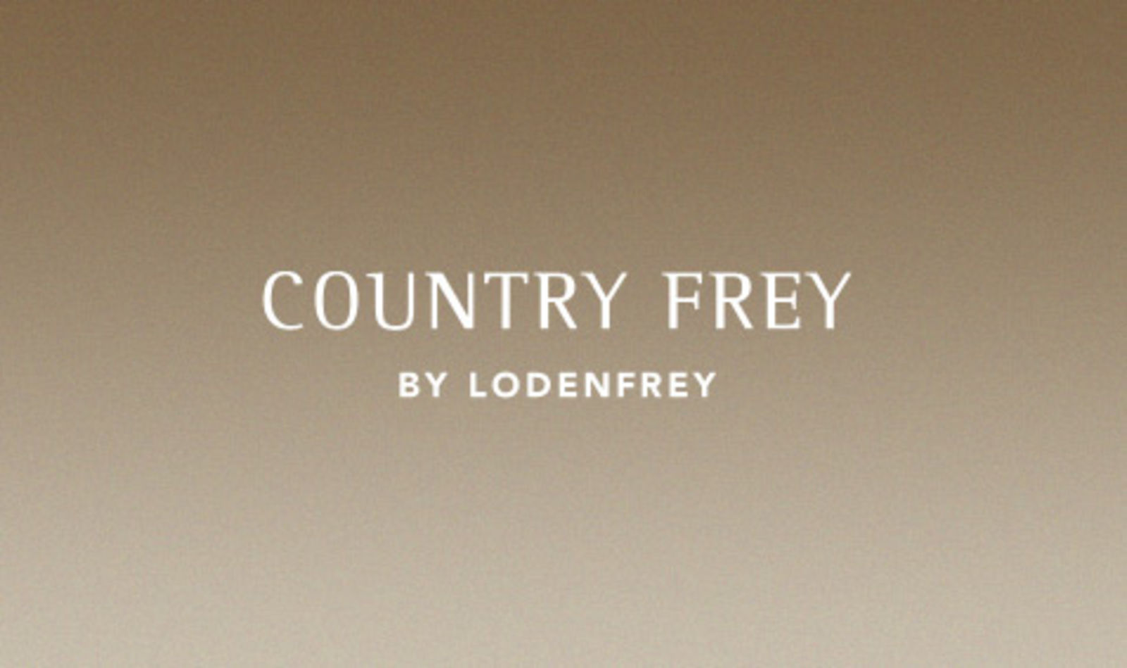 COUNTRY FREY by LODENFREY