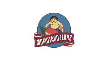 MOMOTARO JEANS Logo