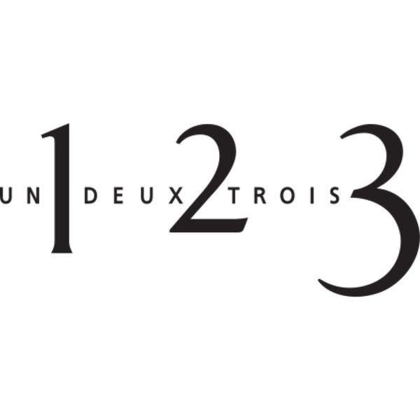 1 2 3 | UN DEUX TROIS Logo