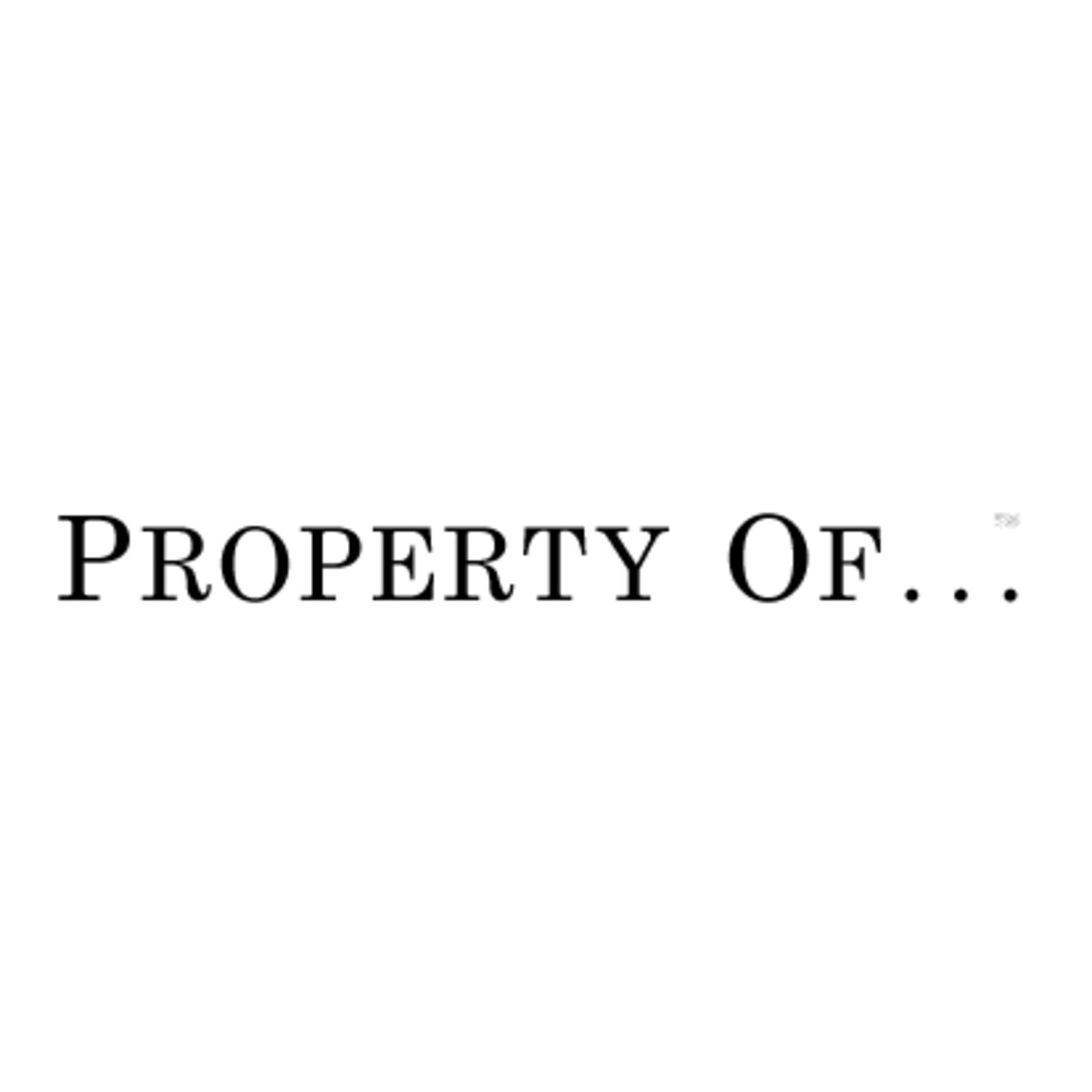 property of...
