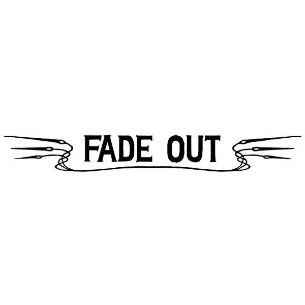FADE OUT Logo