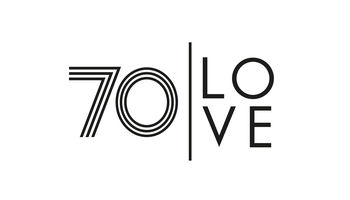 70 LOVE Logo