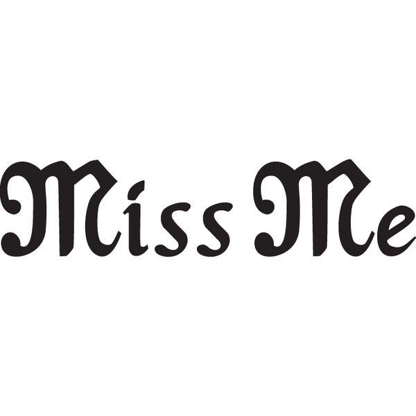 Miss Me Logo