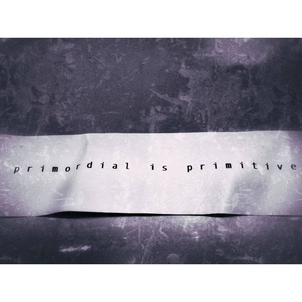 primordial is primitive Logo