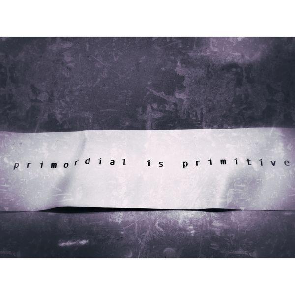 primordial is primitive Logo