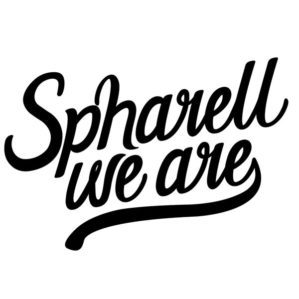 Spharell, We Are Logo