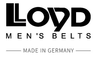LLOYD Men's Belts Logo