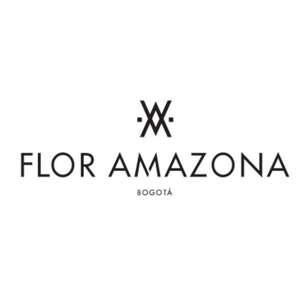 FLOR AMAZONA Logo