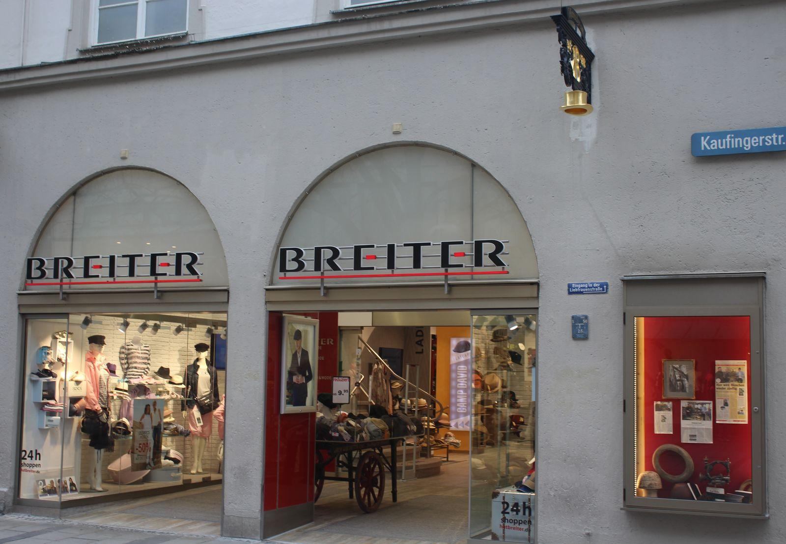 Hut und Mode BREITER in München (Bild 3)