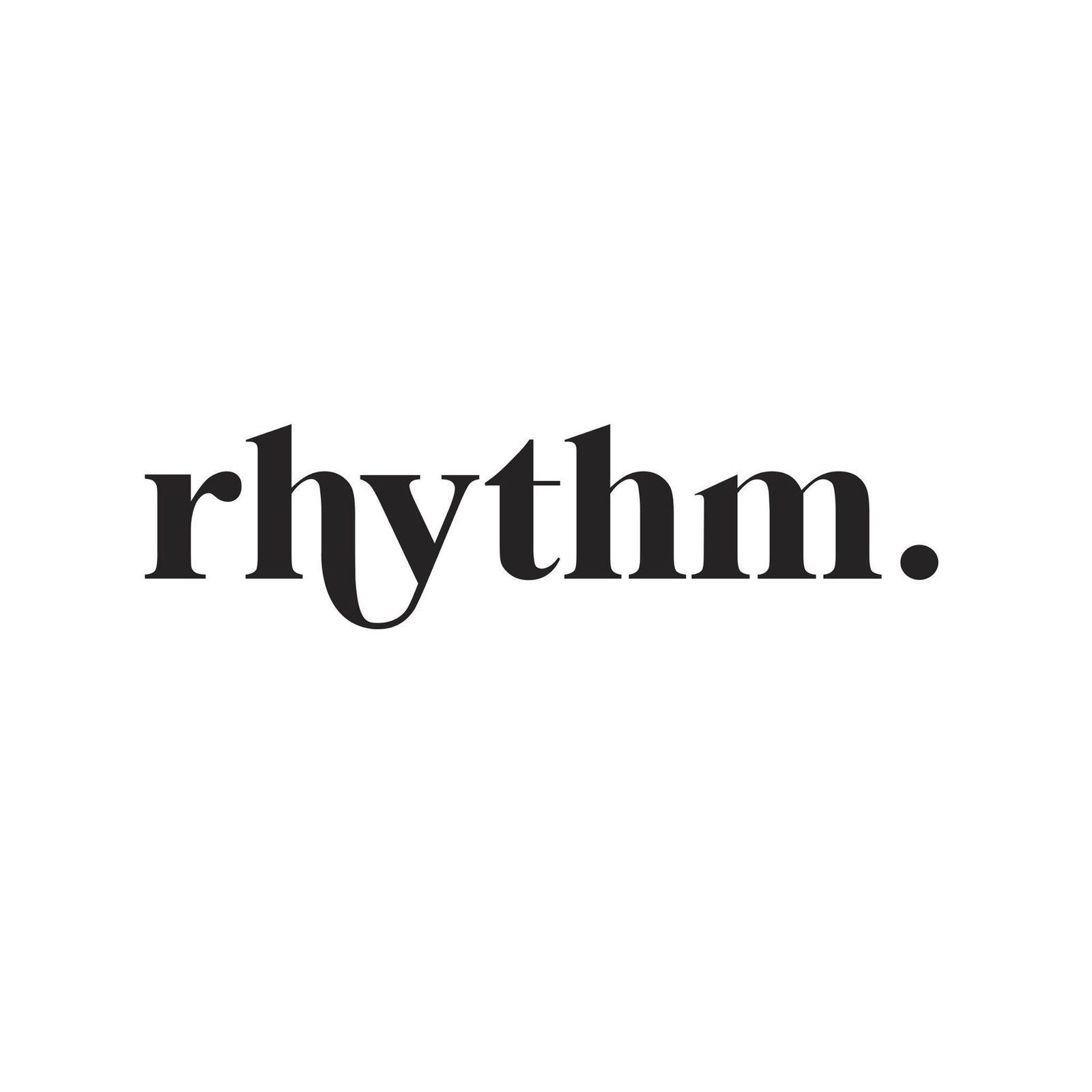 Rhythm.