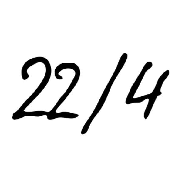 22/4 Logo