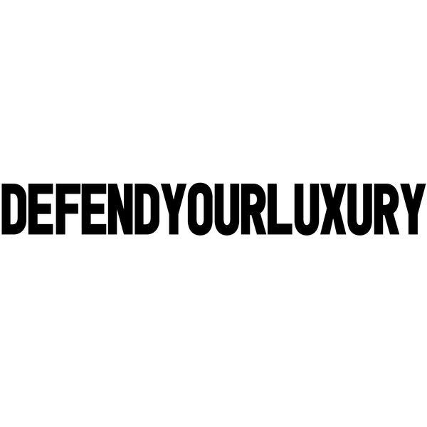 Defend Your Luxury Logo