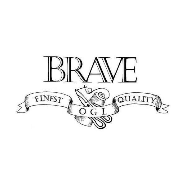 BRAVE by Obbi Good Label Logo
